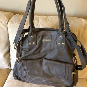 Timi and Leslie Hayley Diaper Bag Mushroom Brown